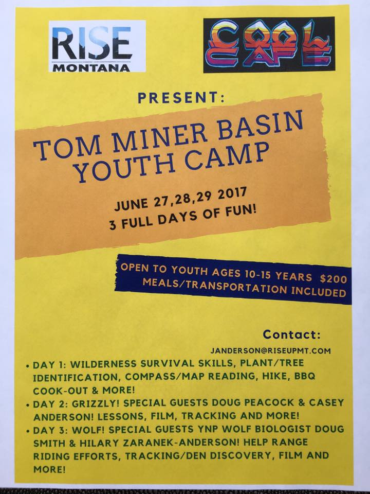 Tom Miner Basin Youth Camp – Rise Up Montana